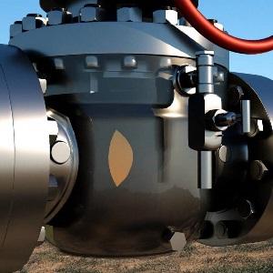 Valvulas industriais Controlved engaxetamento com a Controlved